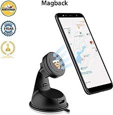 Tech Sense Lab Universal Magnetic Mobile Mount for Car, Dashboard, Windscreen or Work Desk(Magback)