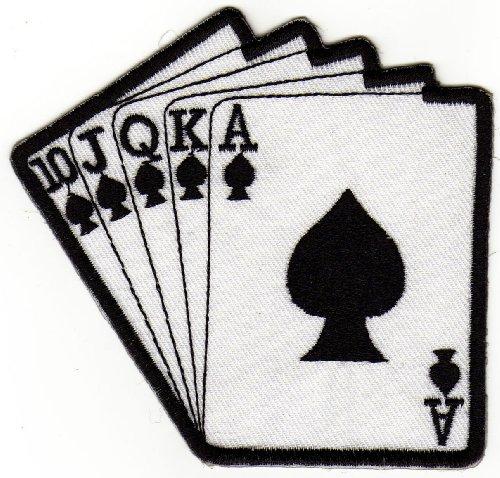 aufnaher-bugelbild-aufbugler-iron-on-patches-applikation-karten-royal-flush-poker-casino