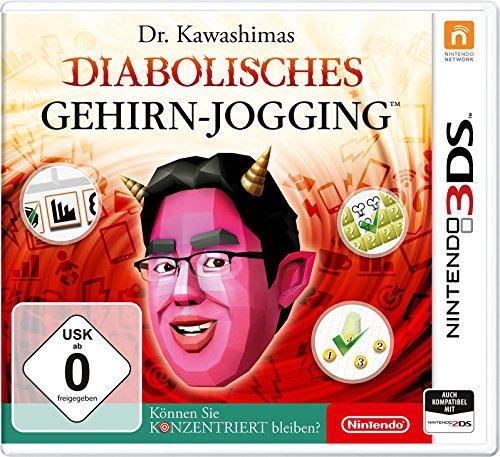 Dr. Kawashimas Diabolisches Gehirn - Jogging - Können Sie konzentriert bleiben? - [Nintendo 3DS] - Ds-sport-spiele