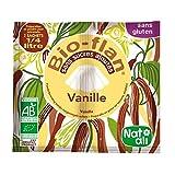 Bio Flan Saveur Vanille Sans Gluten : lot de 3 paquets de 2 sachets