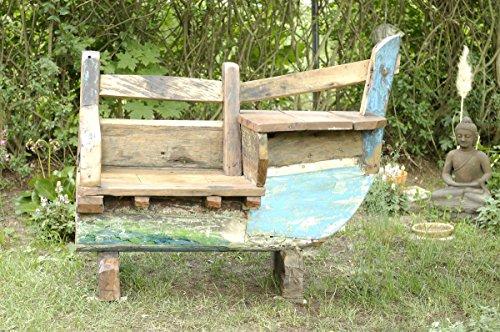 boot bank klein recyceltes holz aus bali gartenbank. Black Bedroom Furniture Sets. Home Design Ideas