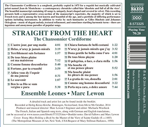 Straight from the Heart/Chansonnier Cordiforme