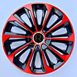 Radzierblende Extra STRONG rot/schwarz 15 Zoll 4er Set