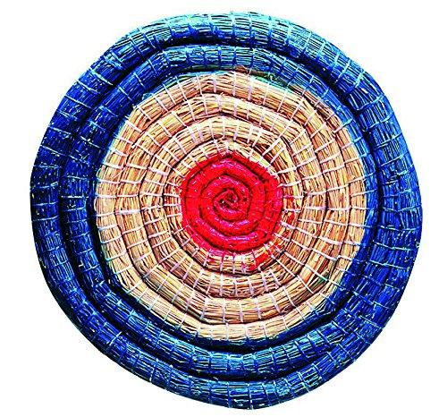 herbertz-erwachsene-bogensport-zubehr-strohzielscheibe-durchmesser-65-cm-6-cm-dick-mehrfarbig-one-si