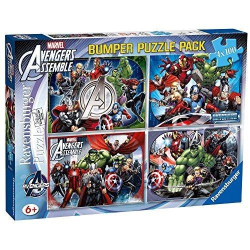 Les Avengers Pack de 4 puzzles