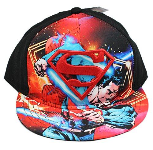 DC Comics Superman Battle Mode Youth Snapback Casquette De Baseball