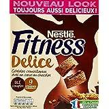 Nestlé Fitness Délice Chocolat Céréales du Petit Déjeuner Paquet de 350 g