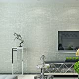 CNMDGBWY Moderne Farbe Beflockung Strukturtapete Hellgrau Beige Einfache Schlafzimmer Wohnzimmer Fernseher Sofa Dekor Design Wand Papierrollen
