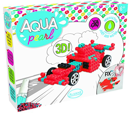 Unbekannt aladine 47018-Aqua Pearl Fórmula 1Auto Juego de Manualidades