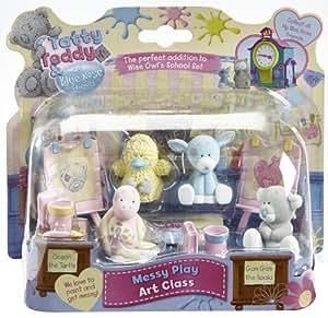 My Blue Nose Friends Four Figure School Art Class Accessory Set