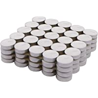 Homesake Wax Tealight Candles, Pack of 50, Unscented