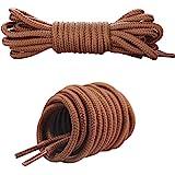 Canwn Lacci Scarpe Rotondi, [3 Paia] Stringhe Scarpe Robuste e Resistenti Lacci per Scarpe da Ginnastica, Scarponcini, Sneake