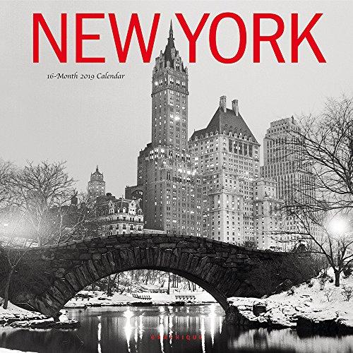 NEW YORK 2019 SQUARE WALL CALENDAR