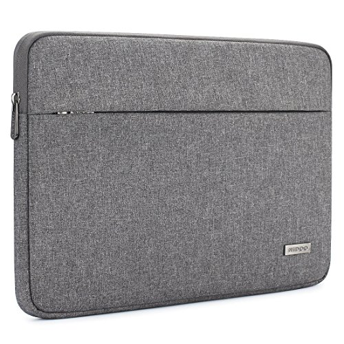 "NIDOO 15.6 Laptop Sleeve Tasche Zoll Laptoptasche Laptophülle Notebooktasche Schutzhülle für 15.6"" Lenovo Ideapad 530S / Dell Alienware 15/15.6"" Samsung Notebook Odyssey / 15.6"" Dell XPS 15, Grau"