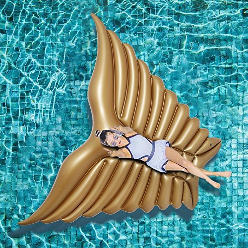 Jasonwell Unicornio Hinchable colchonetas Piscina Inflable Flotador Unicornio Piscina para Adultos y Ni/ños Hinchables Juguete para Fiesta de Piscina 200x100x90cm