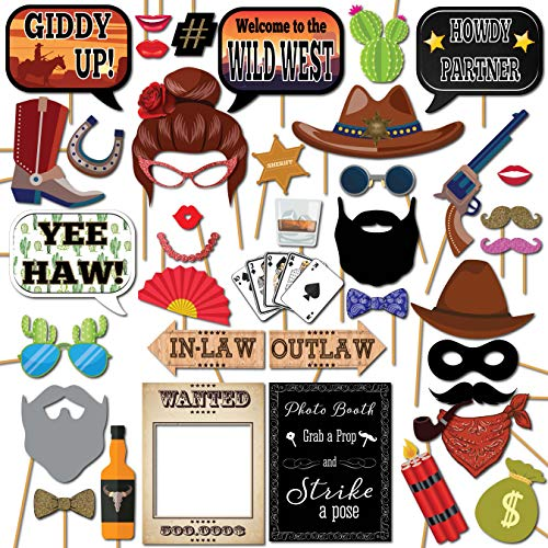 Wild West Party Supplies - Wild West Cowboy Western Photo Booth