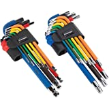 Sealey AK7194 TRX-Star clé Torx Set 9pc code couleur extra-long