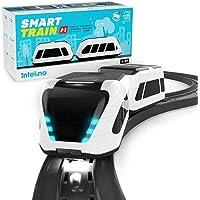 intelino J-1 Smart Train Startpackung - funktioniert bildschirmfrei oder App-verbunden - Roboter Spielzeugeisenbahn die…