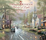 #2: Thomas Kinkade Painter of Light with Scripture 2019 Deluxe Wall Calendar