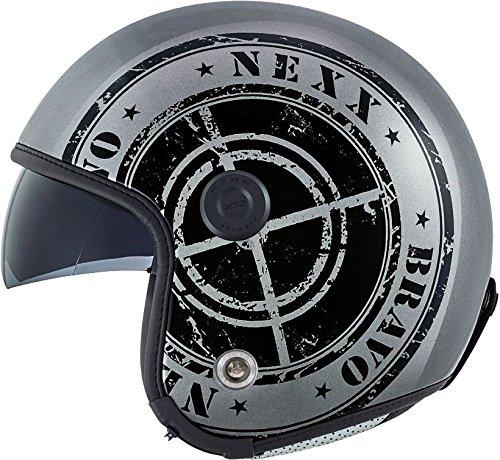 Preisvergleich Produktbild NEXX X70 BRAVO dunkel grau / schwarz XL