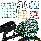 Bike bagagli net mesh serbatoio carburante, 6ganci tenere premuto web per tenere il cappello caschi giacche attrezzature per moto scooter ciclomotore e Quad