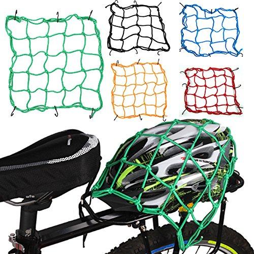 Preisvergleich Produktbild Netznetz für Fahrrad,  6 Haken,  hält Tank,  hält Ihre Hut,  Helme,  Jacken,  Ausrüstung für Motorrad,  Roller,  Moped und Quad