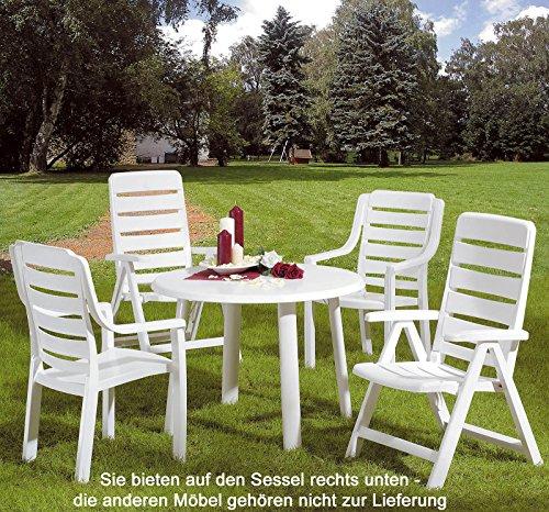 1 Kettler Gartenstuhl Multipositionssessel Nizza