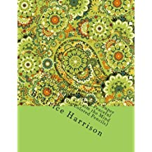 Adult Coloring Book: Giant Super Jumbo Coloring Book of Peaceful Pattern Designs To Calm the Mind and Anxiety (Use Colored Pencils) (Adult Coloring Books)