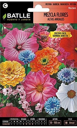 Semillas de Flores - Mezcla de Flores altas anuales - Batlle
