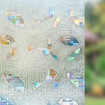 Rabbitgoo Fensterfolie Selbstklebend Sichtschutzfolie Milchglasfolie Matt von GLOBEGOU WZ CO.,LTD - TapetenShop