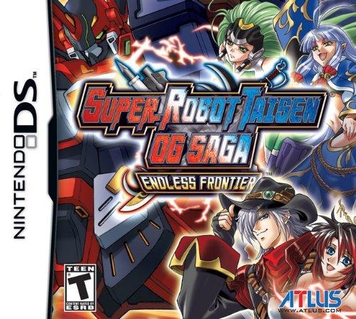 Super Robot Taisen OG Saga: Endless Frontier NDS (englisch)