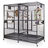 Montana Cages | Papageienkäfig, Papageienvoliere XXL Arkansas II - Antik
