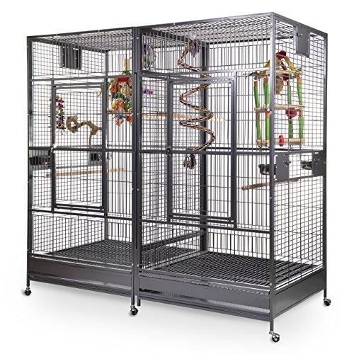 Montana Cages ®   Papageienkäfig, Papageienvoliere XXL Arkansas II - Antik