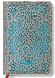 Paperblanks Kalender 18 Monate 01.07.2017 bis 31.12.2018 Maya Blau Mini 9,5x14cm