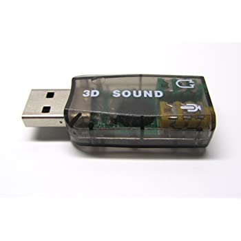Enter External USB Sound card