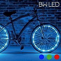 Tubo Luminoso Per Biciclette BW LED (pacco da 2) Blu