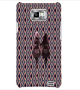 PrintDhaba Mirror Girl D-5734 Back Case Cover for SAMSUNG GALAXY S2 (Multi-Coloured)