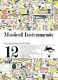 Musical instruments, Vol. 8 : Grandes feuilles de papier cadeau de haute qualité
