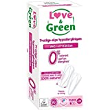 Love & Green Protège-slips Hypoallergéniques Flexi - Paquet de 28 unités