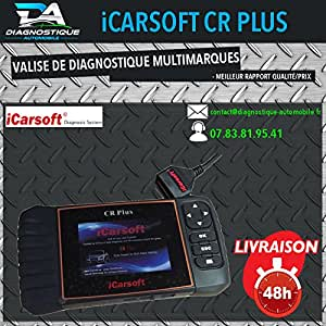 mister diagnostic icarsoft cr valise diagnostic com multimarques pro outil diag auto scan. Black Bedroom Furniture Sets. Home Design Ideas