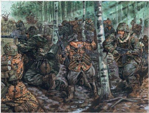Italeri 6068 - wwii german elite troops scala 1:72