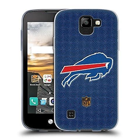 Official NFL Football Buffalo Bills Logo Soft Gel Case for LG K3 (2017)