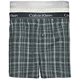Calvin Klein Herren 2er Pack Slim Fit gewebte Boxershorts, Mehrfarbig, X-Large