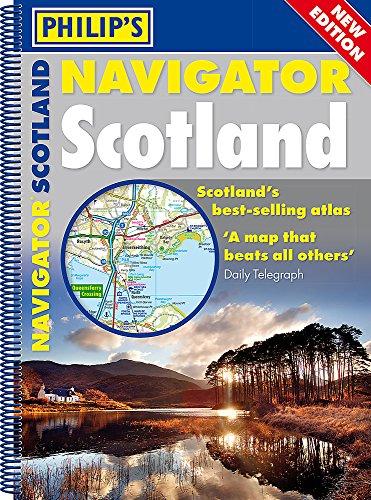 Philip's Navigator Scotland: (A4 Spiral binding) por Philip's Maps