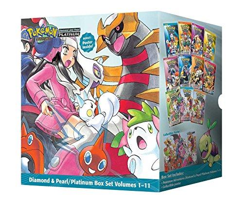 Pokemon Adventures Diamond & Pearl Platinum Box Set 1-11 (Pokémon Adventures Diamond and Pearl Platinum) by Hidenori Kusaka (Box set, 6 Nov 2014) Paperback