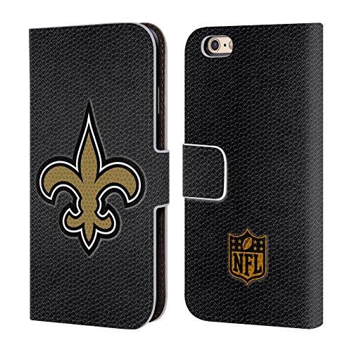 Ufficiale NFL Calcio New Orleans Saints Logo Cover a portafoglio in pelle per Apple iPhone 5c Calcio