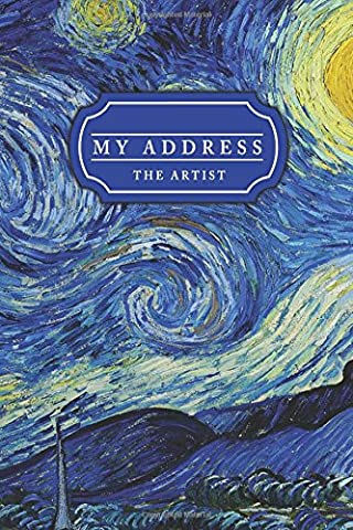 My Address The Artist: Address Book with Pocket Size: Address,