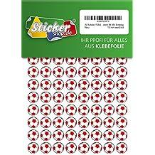 Folie Sticker 44 Aufkleber wei/ß gl/änzend Vinyl Klebemarkierung Dreieck selbstklebend PVC 50 mm