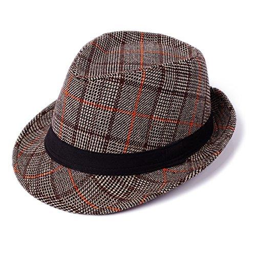 Aucun Jazz/Chapeau en laine/Gentleman des caps d'Angleterre/Chapeau de mode pour homme B