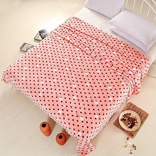 BDUK Der Herbst und Winter auf Decke fusselfreien Tuch Faller Coral , Mittagsschlaf Klimaanlage Decken